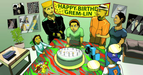 Grem-Lin and Family