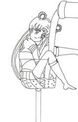 Art dare: Sailor moon by Grisznak