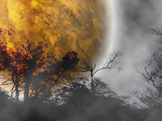 moon by aburanuma