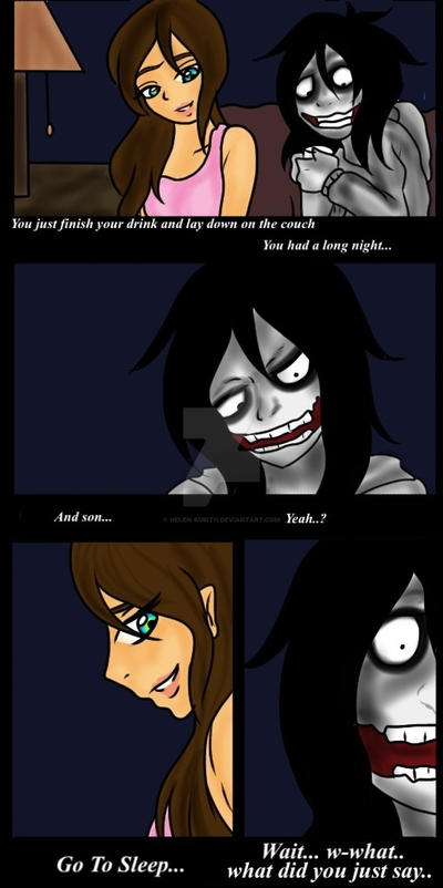 Jeff vs Jane the Killer page 20 by Helen-RubiTH on DeviantArt
