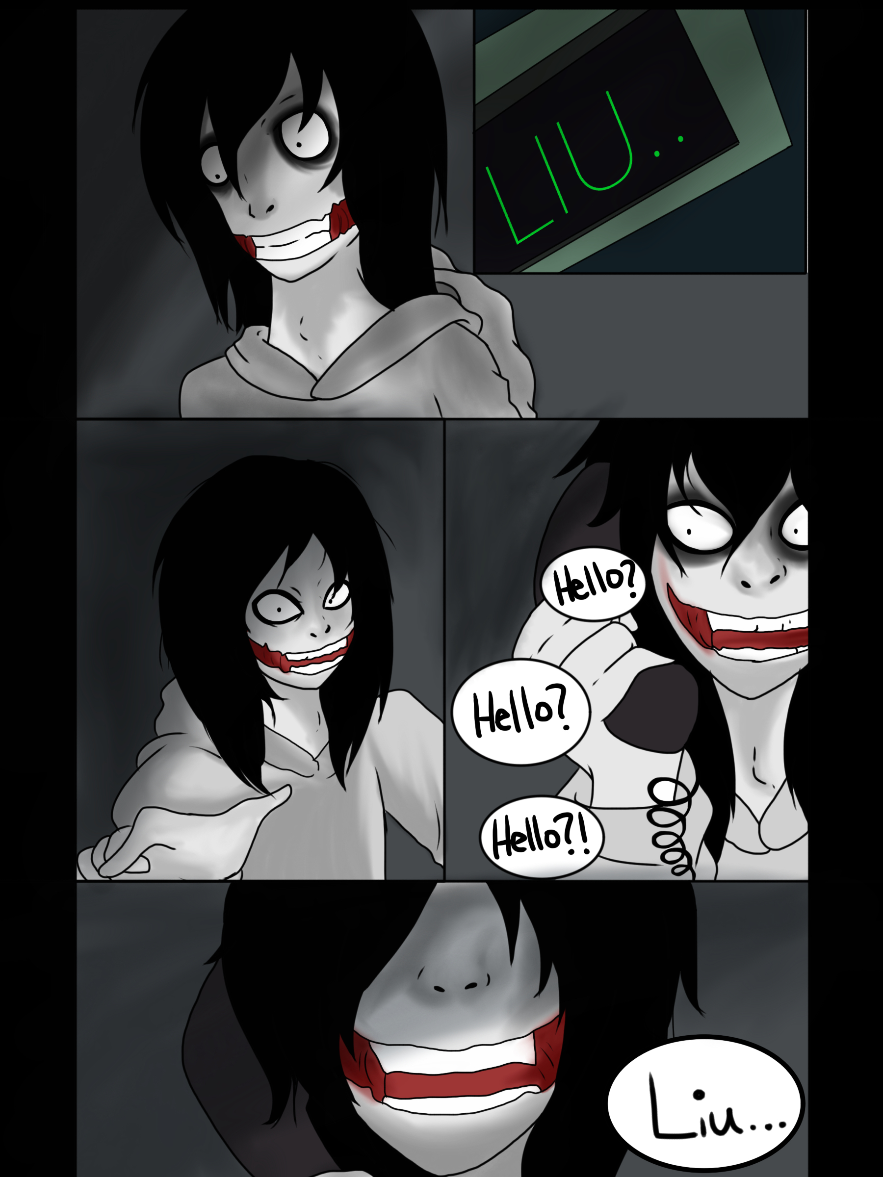 Jeff vs Jane The Killer page 26 by Helen-RubiTH on DeviantArt