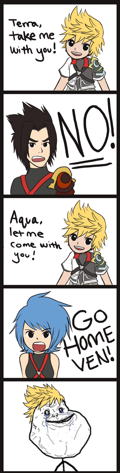 Ventus Forever Alone by chocowaffle