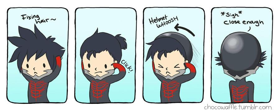 Vanitas has so much hair comic by chocowaffle
