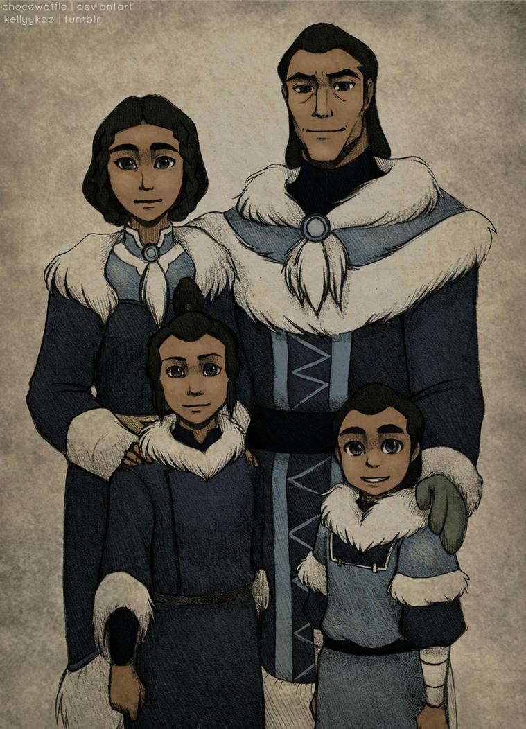 Family Portrait by chocowaffle