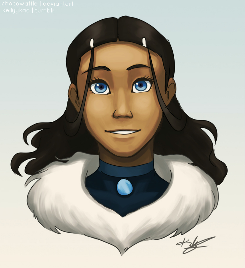 Adult Katara by chocowaffle