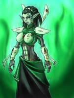 Xenos Warrior Princess by Graphite-Dream