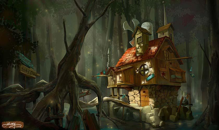Witch House By Aureliahilary ...
