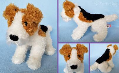 Douglas Bart Fox Terrier plush (standing version)