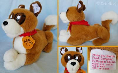 Douglas Nestle ASPCA Mascot Fremont Dog Plush