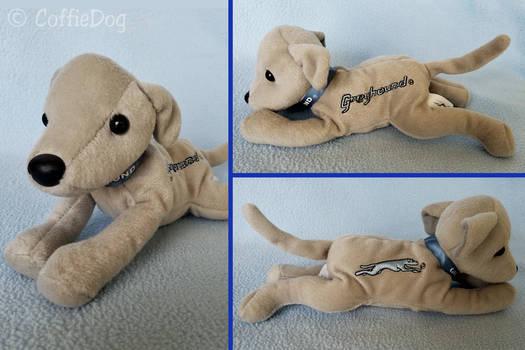 Douglas Greyhound Bus Mascot Promo Plush