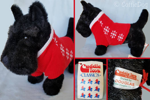 Douglas Stewart Scottish Terrier plush