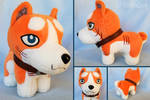 Ginga Official Small Riki Plush by Top Industry by CoffieDog