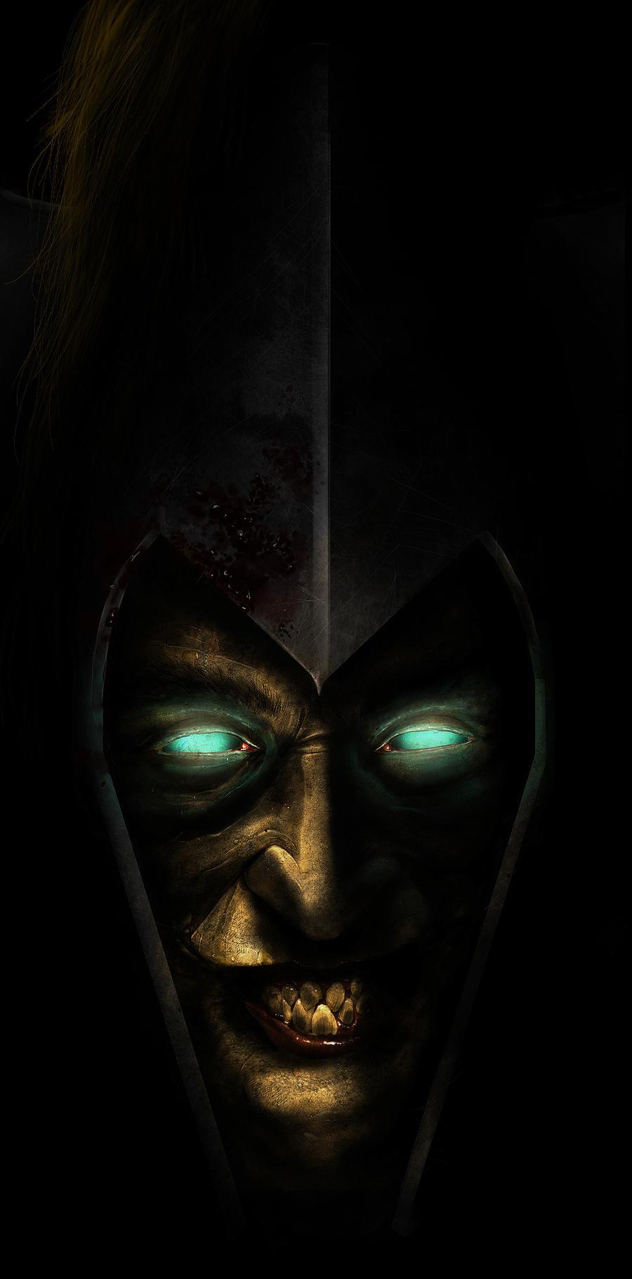 Dark Eldar Archon by SharpWriter