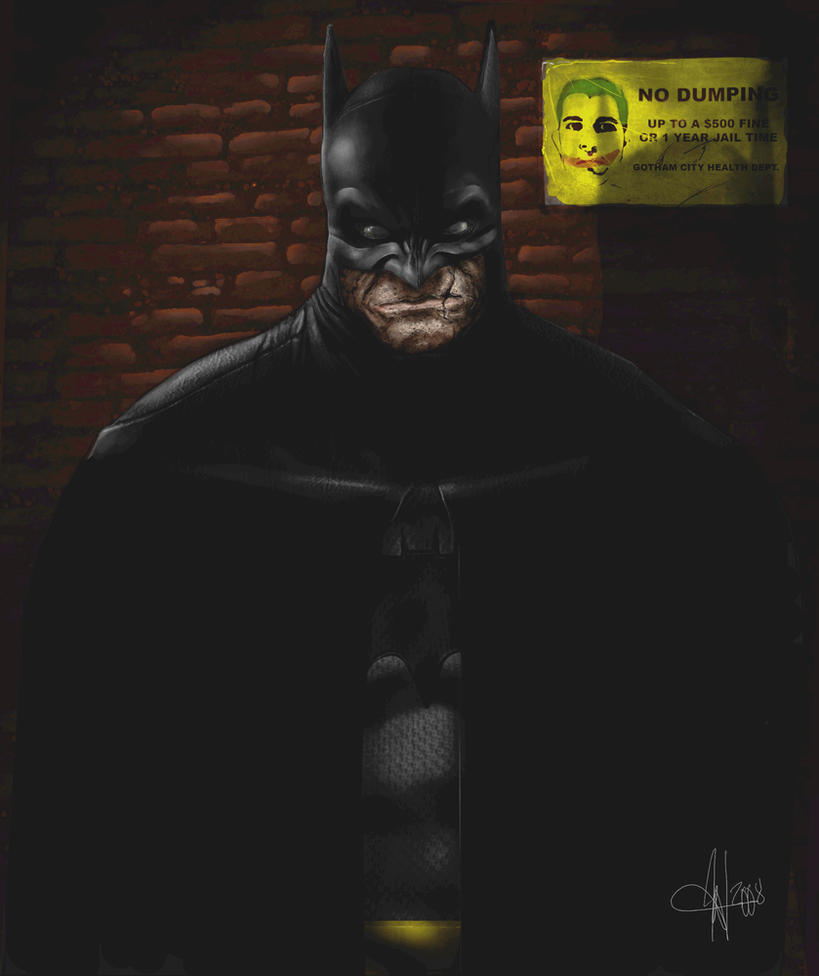 The Dark Knight by SharpWriter