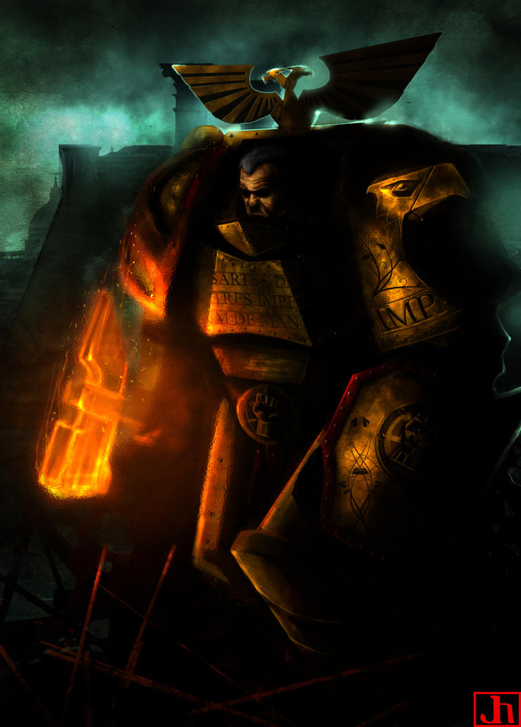 Rogal Dorn by SharpWriter