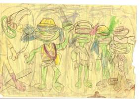 Teenage Mutant Ninja Turtles+1