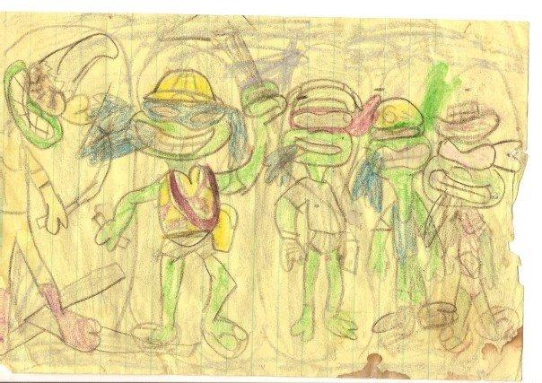 Teenage Mutant Ninja Turtles+1 by SharpWriter