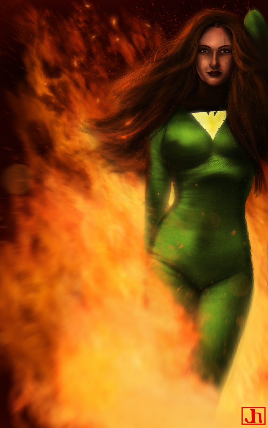 Jean Grey by SharpWriter