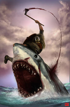 Viking vs. Shark