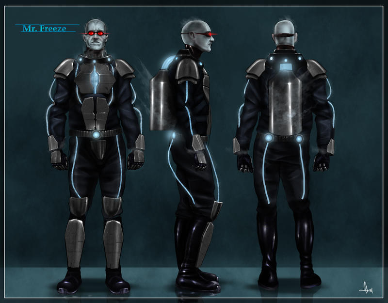 Mr. Freeze Character Sheet by SharpWriter