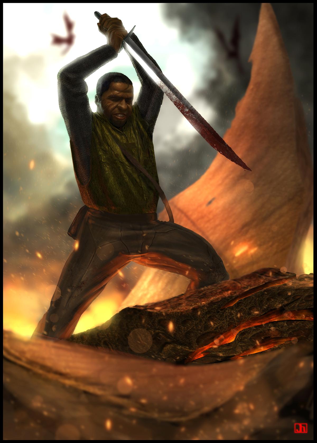 The Dragon Slayer. by SharpWriter