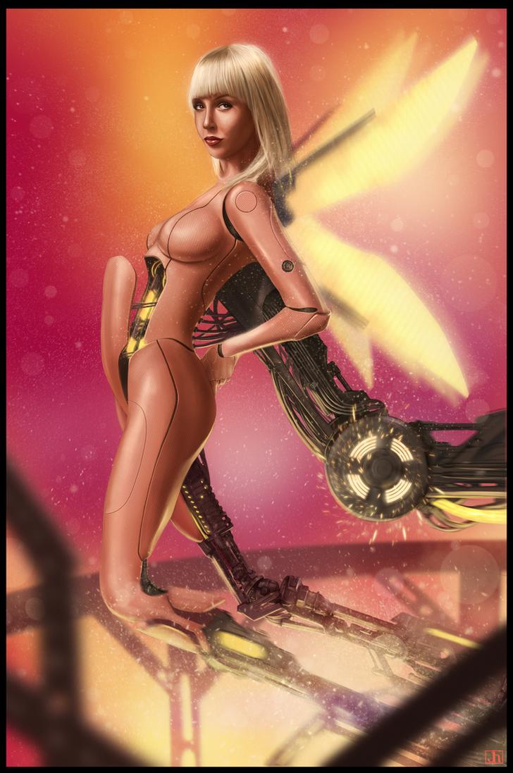 The Cyborg Fae by SharpWriter on DeviantArt