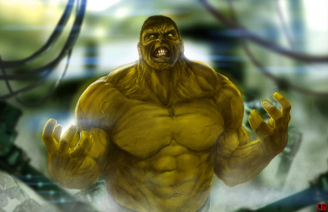 HULK Smash by SharpWriter