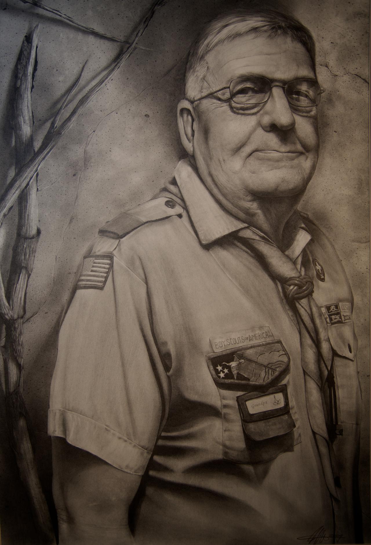 Grandpa by SharpWriter