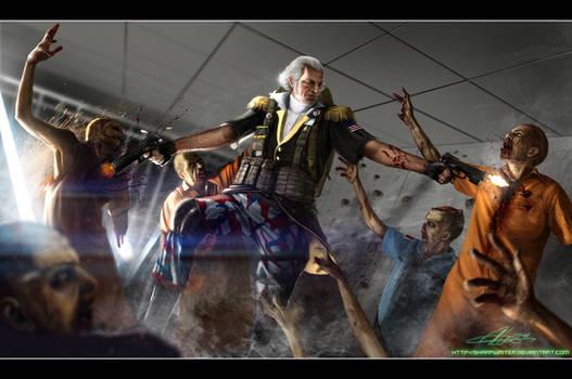 George Washington ZombieHunter
