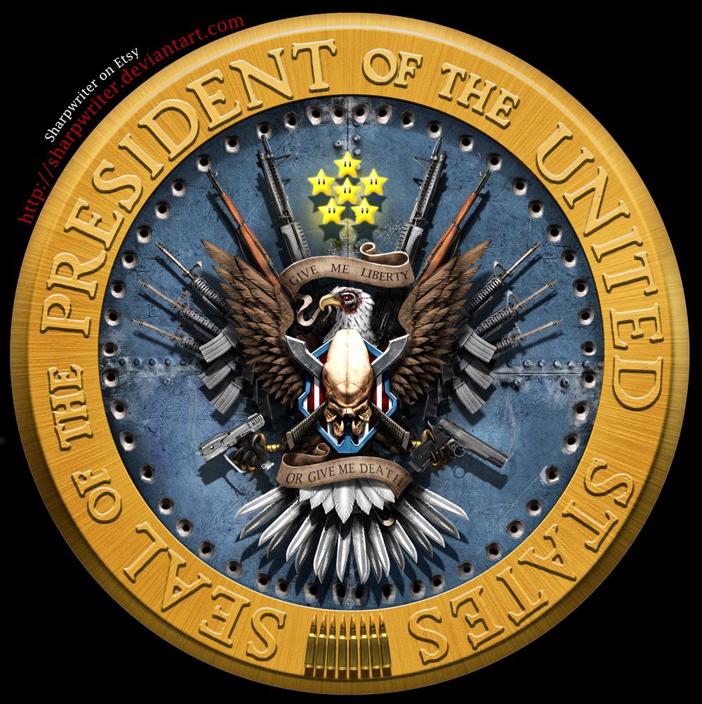 New Clean Presidential Seal