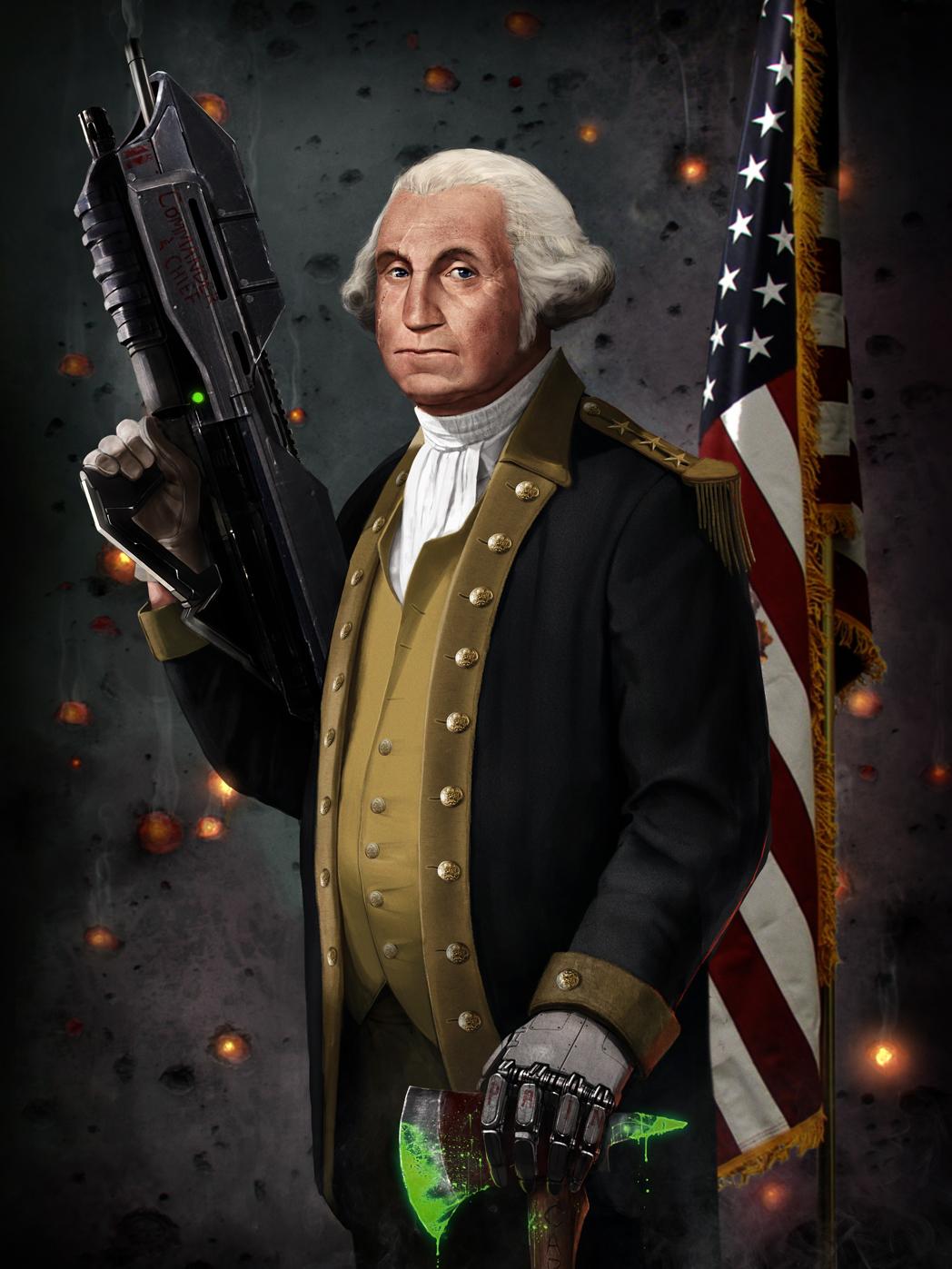 George Washington The Original Master Chief by SharpWriter