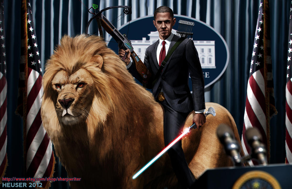 http://pre10.deviantart.net/829b/th/pre/f/2012/267/8/c/obama_riding_a_lion_by_sharpwriter-d5ftze6.jpg