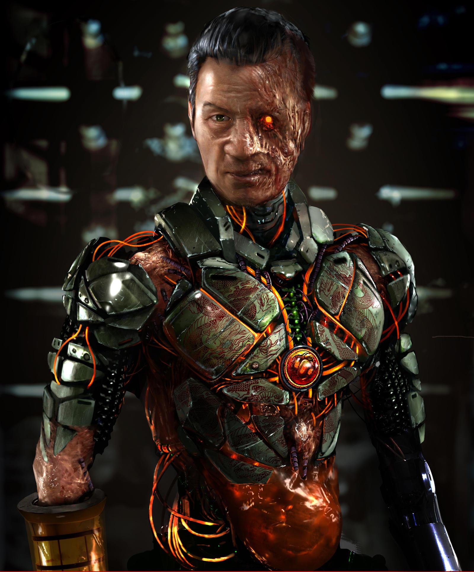 Goro V2 Cyborg