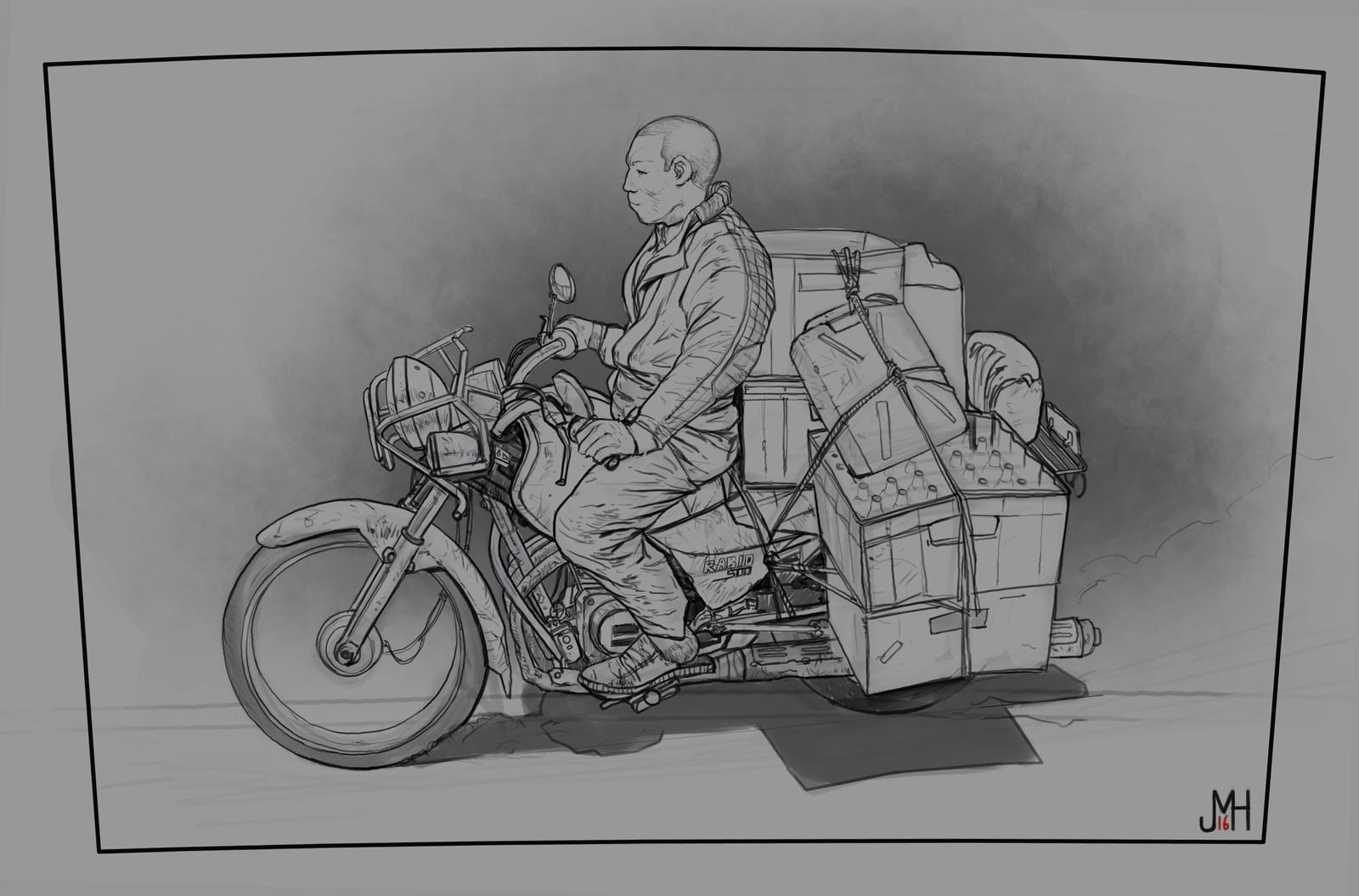 Sketch 2/365 by SharpWriter