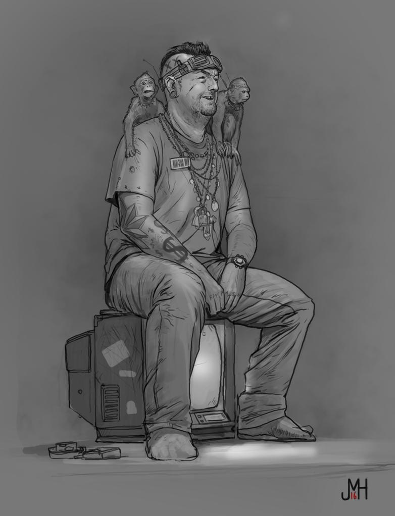 Sketch 3/365 by SharpWriter