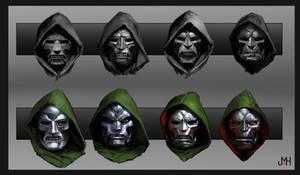 Dr. Doom Mask Concepts by SharpWriter