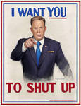 I WANT YOU, TO SHUT UP