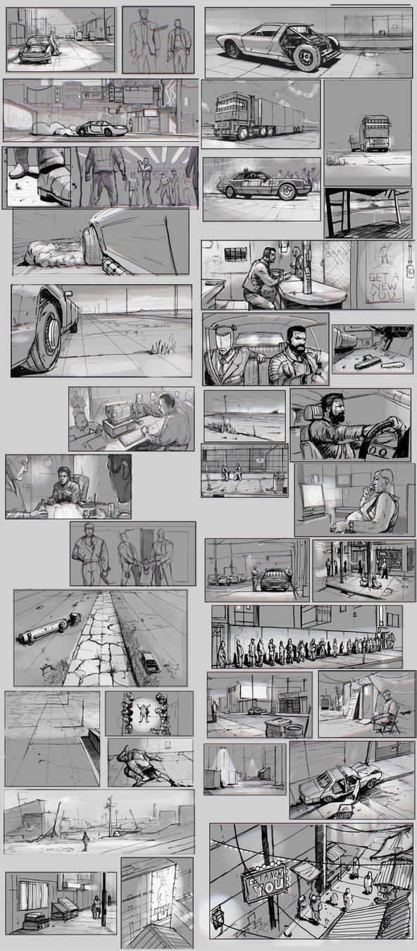 Lawless Storyboarding warm ups by SharpWriter