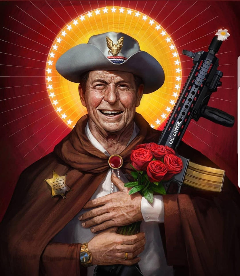 Saint Reagan by SharpWriter