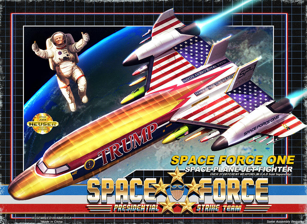 Space Force One Box Set variant