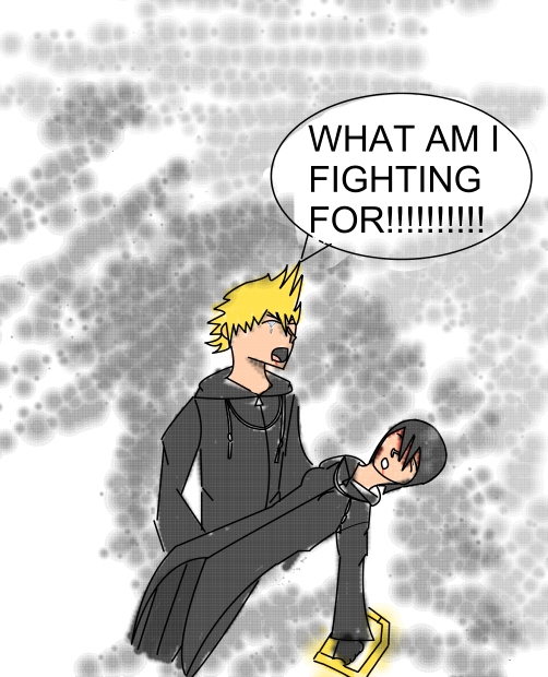 Kingdom Manga Movie: Kingdom Hearts Xion's Death By Divinemanga On DeviantArt