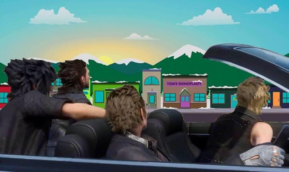 Final Fantasy XV: Car Meme - South Park by Epic-evan on DeviantArt