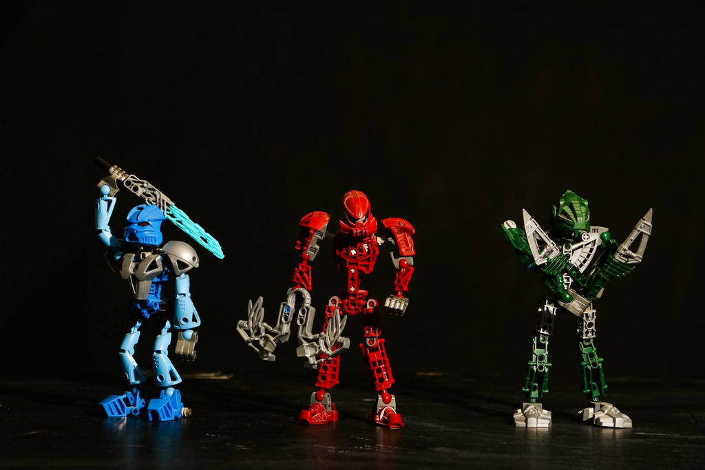 Bionicles by Epic-evan