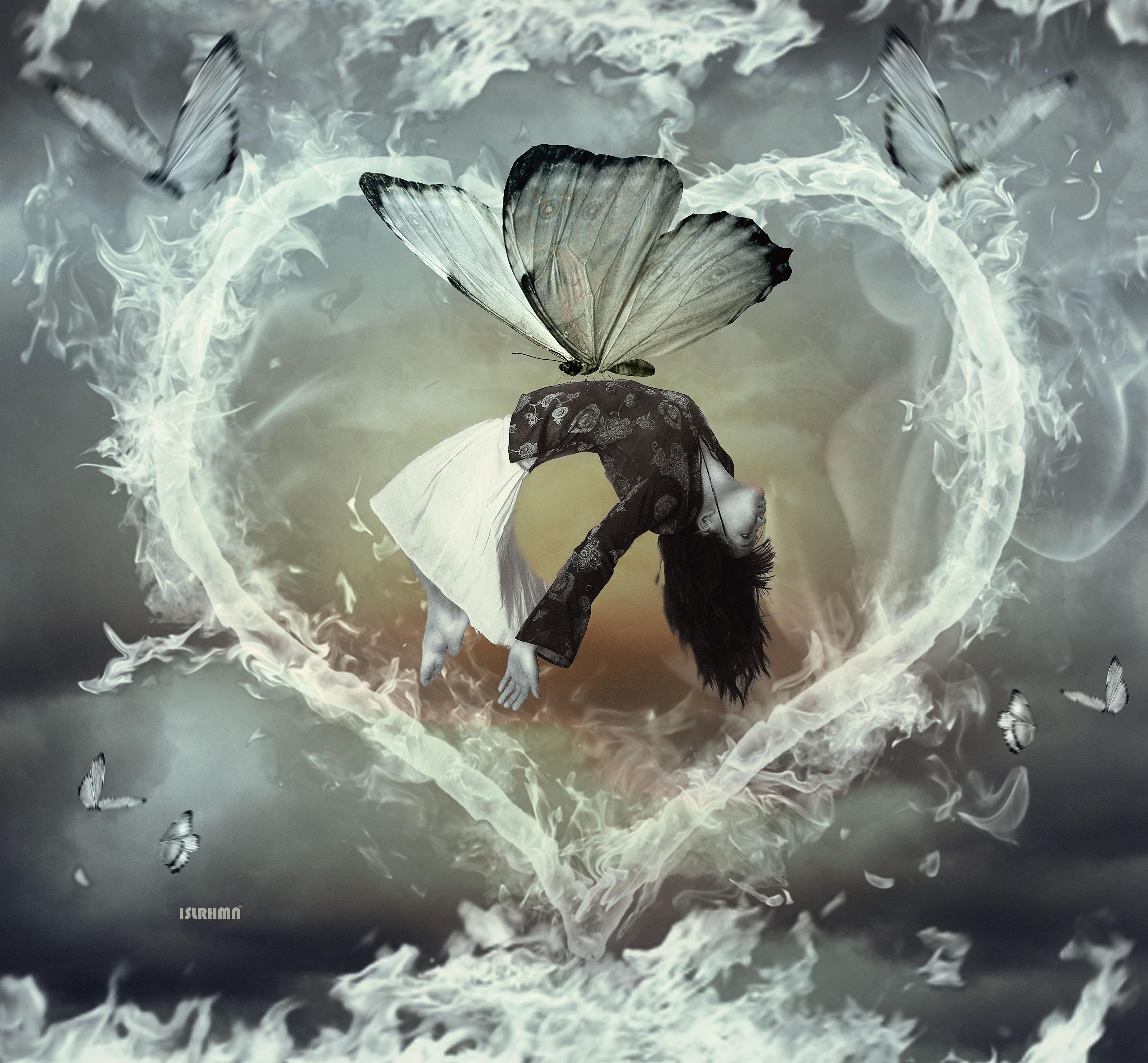 Circle Heart by IsalRahman