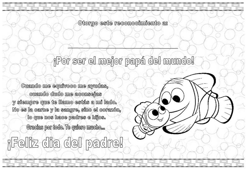 Diploma Dia del Padre by QQAnn