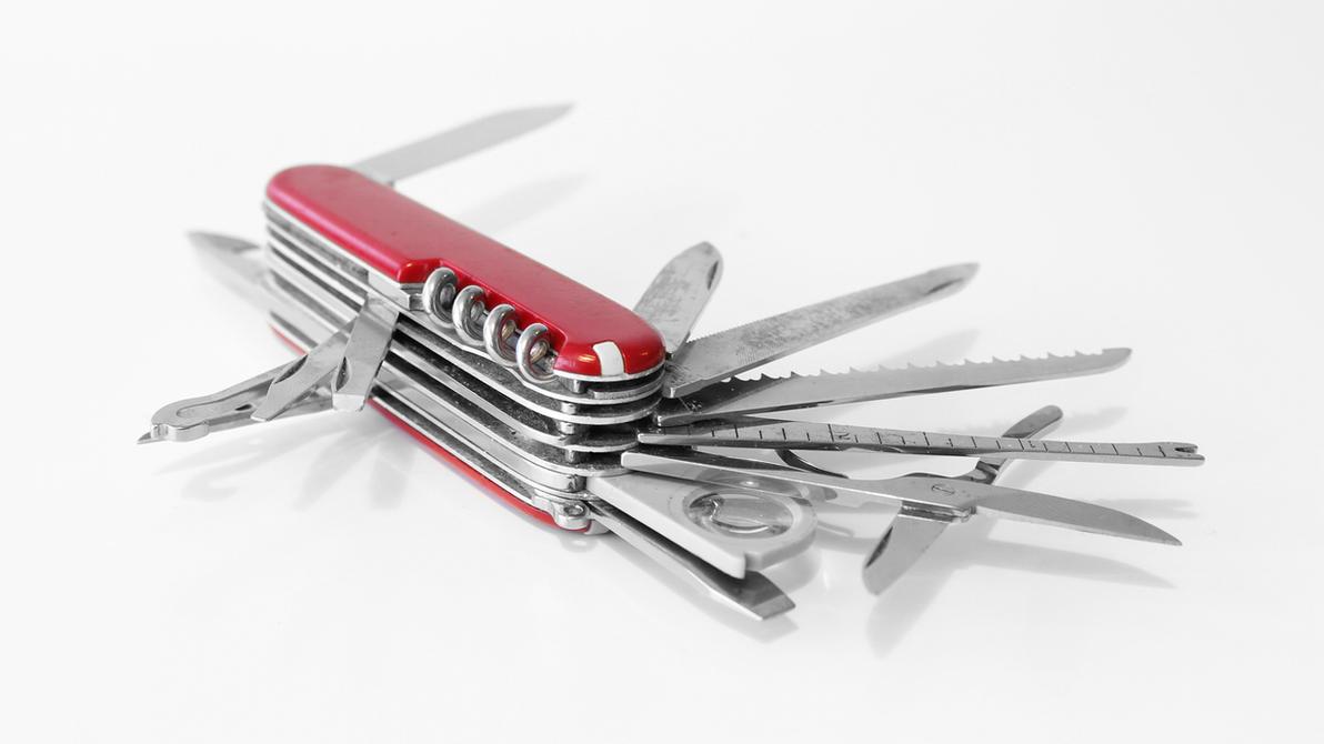 Swiss Army Knife By Dummedan On Deviantart