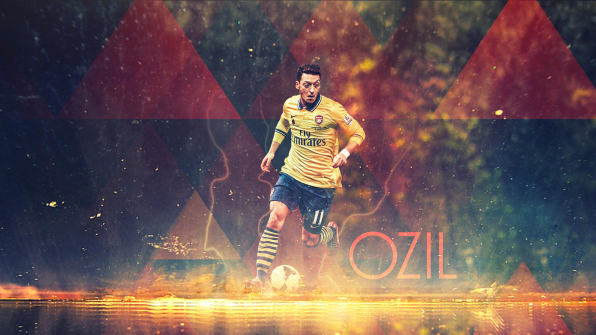 Mesut Ozil By Kerimov23 On DeviantArt