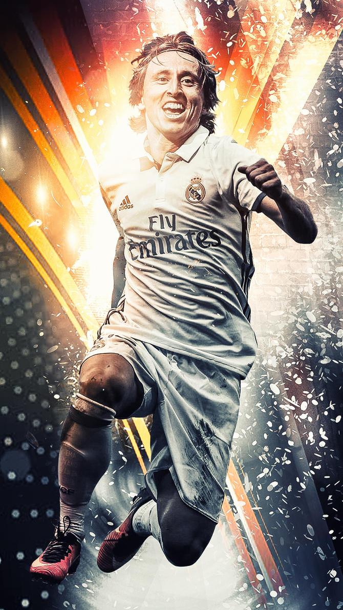 Luka Modric - Real Madrid Wallpaper by Kerimov23 on DeviantArt