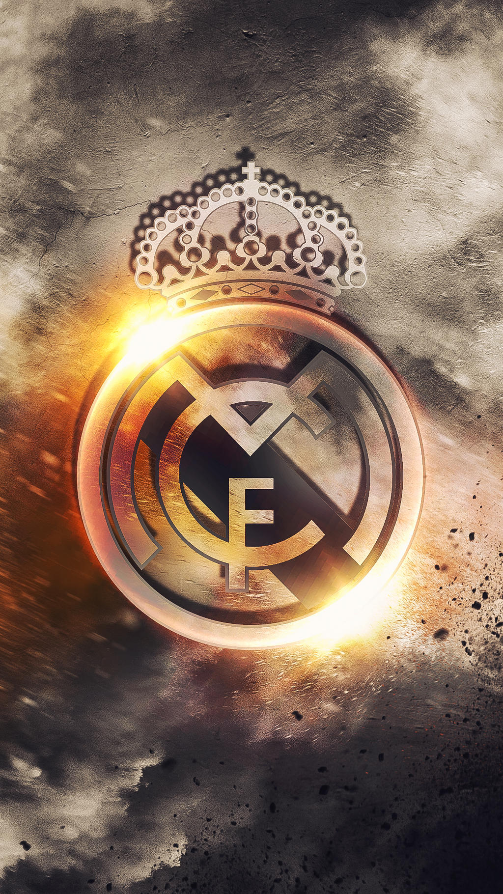Real madrid hd logo wallpaper by kerimov23 on deviantart - Real madrid pictures wallpapers 2017 ...