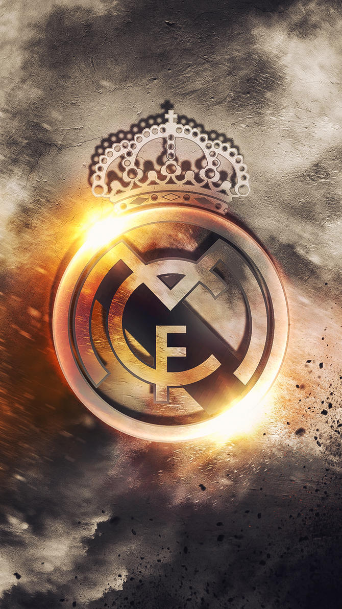 Real madrid hd logo wallpaper by kerimov23 on deviantart real madrid hd logo wallpaper by kerimov23 voltagebd Images